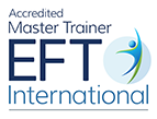 Accredited, Certified Advanced EFT Practitioner. Certified Master Trainer. Approved AAMET Supervisor.