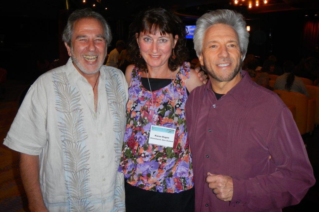 Bruce Lipton, Karen Degen - EFT practitioner, Gregg Braden